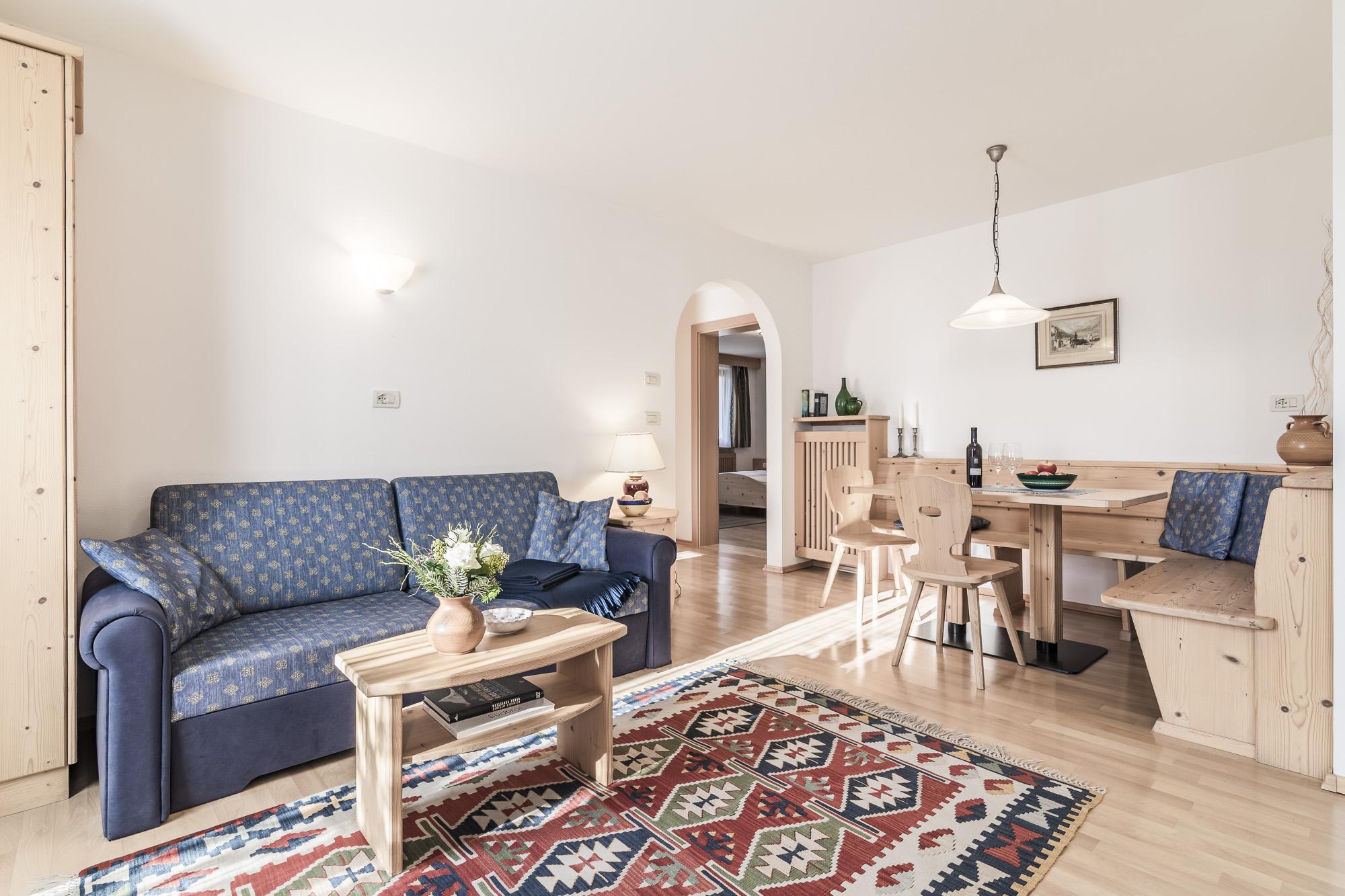 Wohnzimmer Erdgeschoss-Appartament