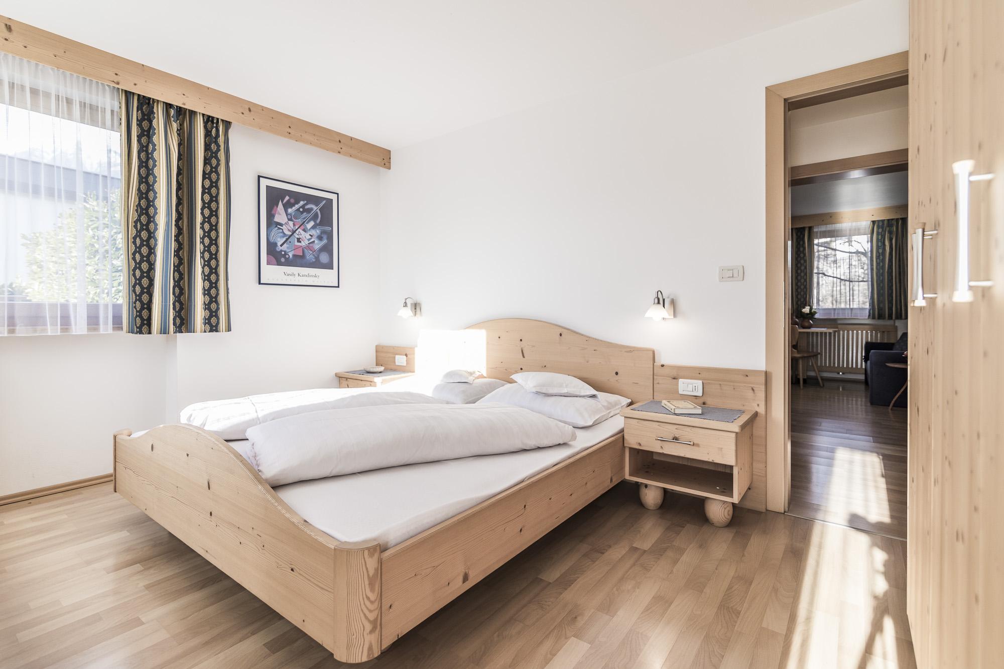 Schlafzimmer 70-qm-Ferienwohnung